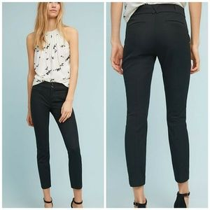 NEW Anthropologie The Essential Slim Cropped Sz 0